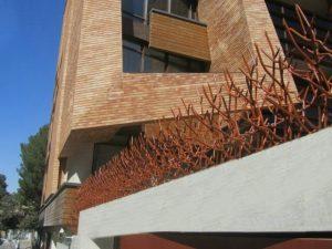 نمونه نصب شده حفاظ شاخ گوزنی